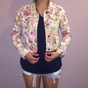 Jackets & Blazers - Spring Floral Jacket