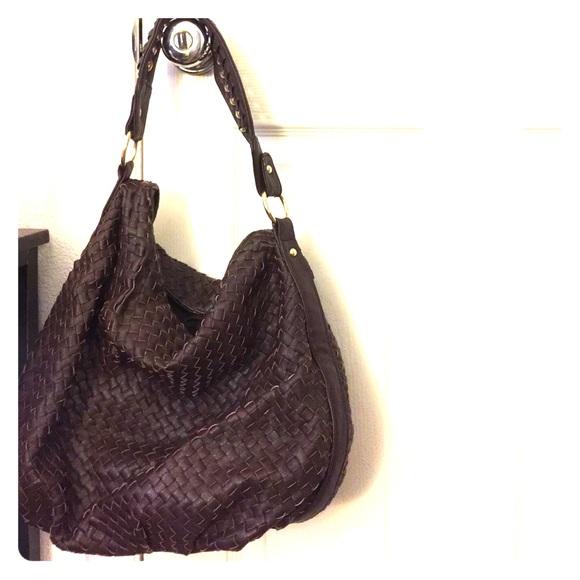 Banana Republic Handbags - Banana Republic brown leather bag 415b6a45ee9de
