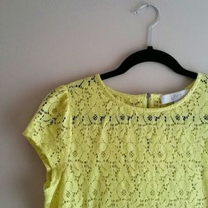 SOLD - LOFT Lace Top - Size SP