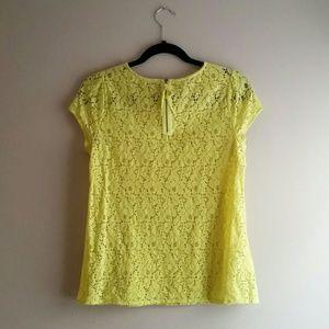 LOFT Tops - SOLD - LOFT Lace Top - Size SP