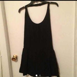 Black halter dress large