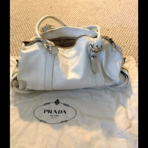 vintage prada shoulder bag