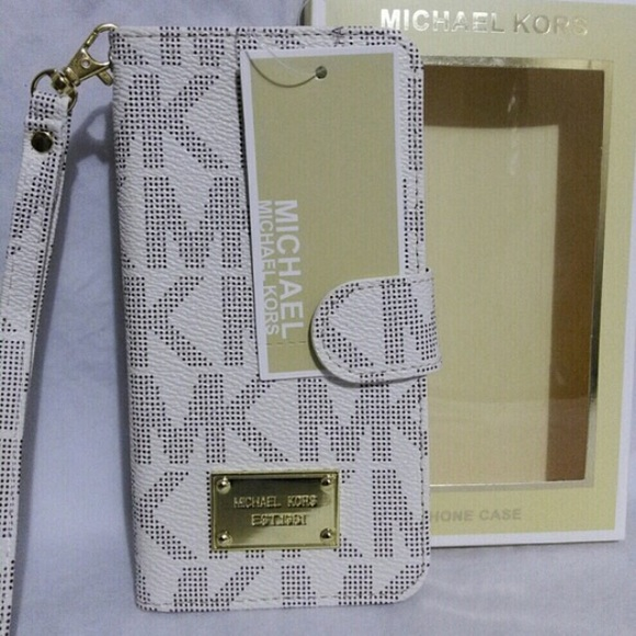 newest 0973a 1981d Michael Kors wallet case Galaxy S6 Edge