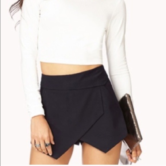 38% off Forever 21 Dresses & Skirts - Black Envelope Skirt from ...