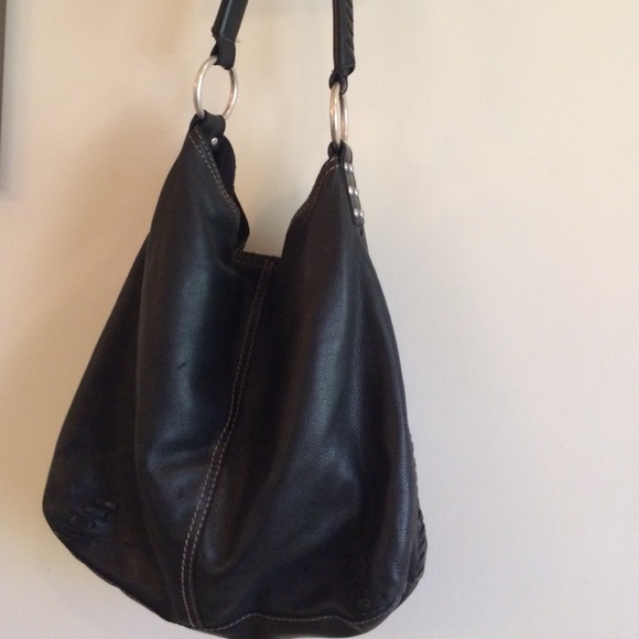 57% off Lucky Brand Handbags - Lucky Brand black soft leather ...