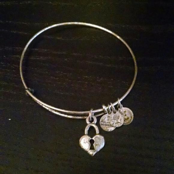 Alex And Ani Jewelry Heart Locket Alex Ani Bracelet Poshmark