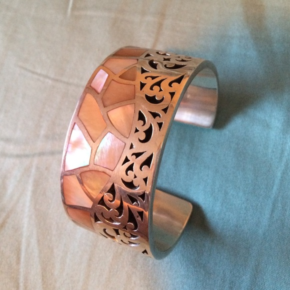 Lois Hill Jewelry - Lois Hill blush mother of pearl cuff