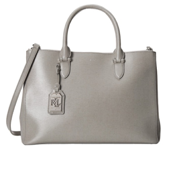 c4b10e871 Ralph Lauren Bags | New Double Zip Satchel In Dove Grey | Poshmark