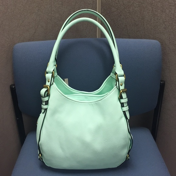 ⭐️FINAL SALE⭐ Get it now!! NWT Mint Hobo Bag OS from Bre's ...