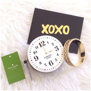 🆕 Kate Spade All Aboard Clock Coin Purse