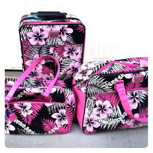 52% off Roxy Accessories - Roxy luggage set from Bella's closet on ...