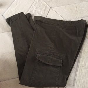 Olive green GAP jegging