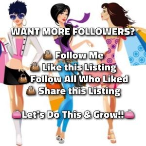 Other - LIKE FOLLOW SHARE