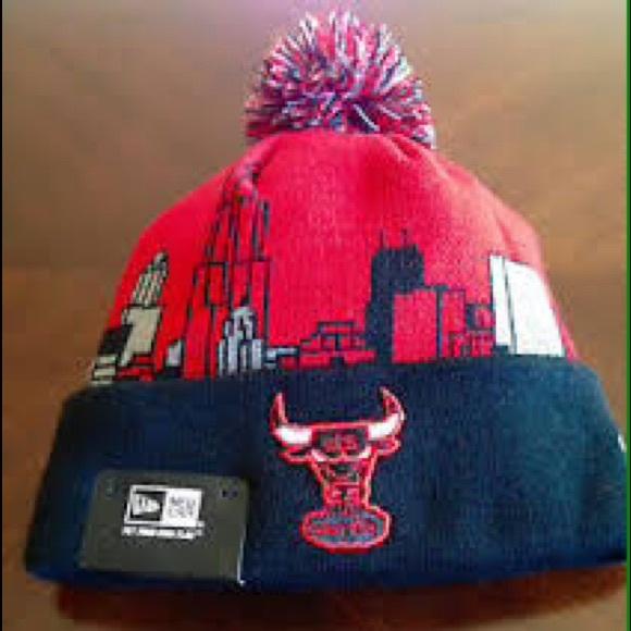 86339e1d43f New Era Skyline Chicago Bulls Winter Beanie Hat