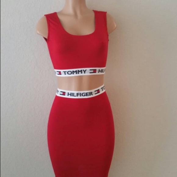 449f8f101034 Skirts   Tommy Hilfiger Restructured Skirt Set   Poshmark