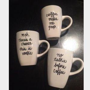 Other - Coffee Talk Mugs☕️