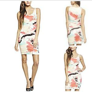 Arden B Paint Splotch Dress