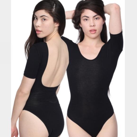 900e8385b6 American Apparel Tops - American apparel scoop back bodysuit