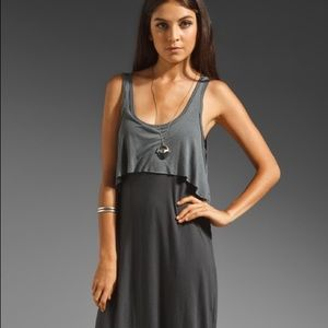 Free People Dresses & Skirts - FP Grey Layered Dress