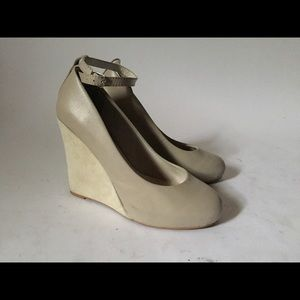 Jeffrey Campbell ankle strap wedge