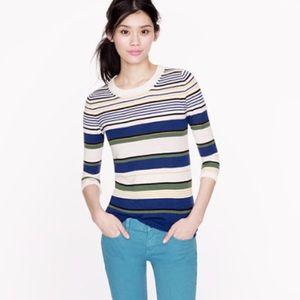 J. Crew Sweaters - Jcrew tippi in multi stripe