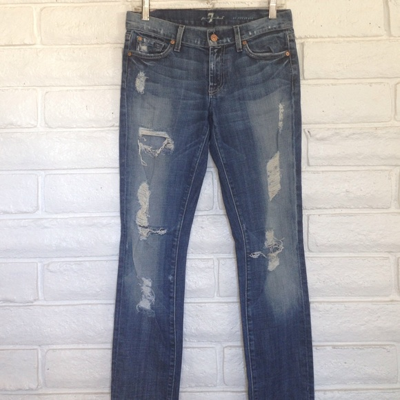 7 for all Mankind - 7 For All Mankind Ripped Jeans from Stina's ...