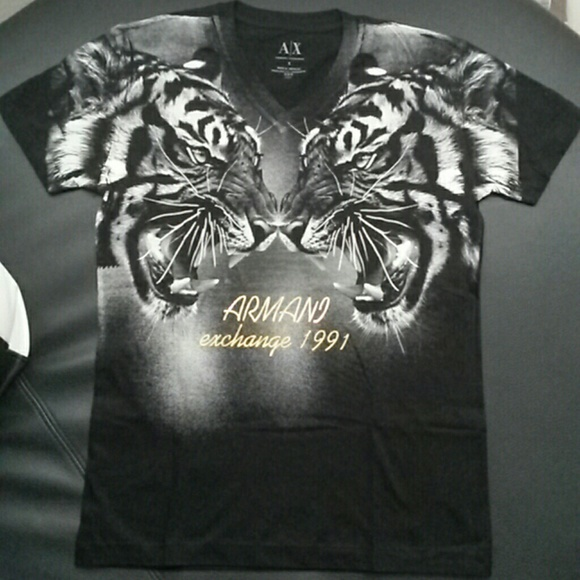 Armani Exchange Mens T Shirts