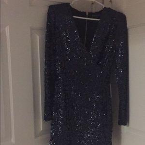 A never worn sparkly mini dress
