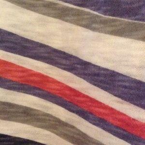 Forever 21 Tops - American Nautical Stripe Crop Top