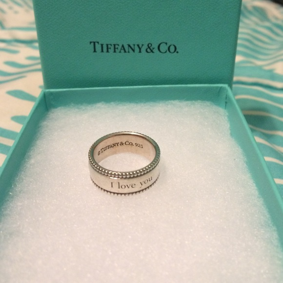 Tiffany & co i love you ring