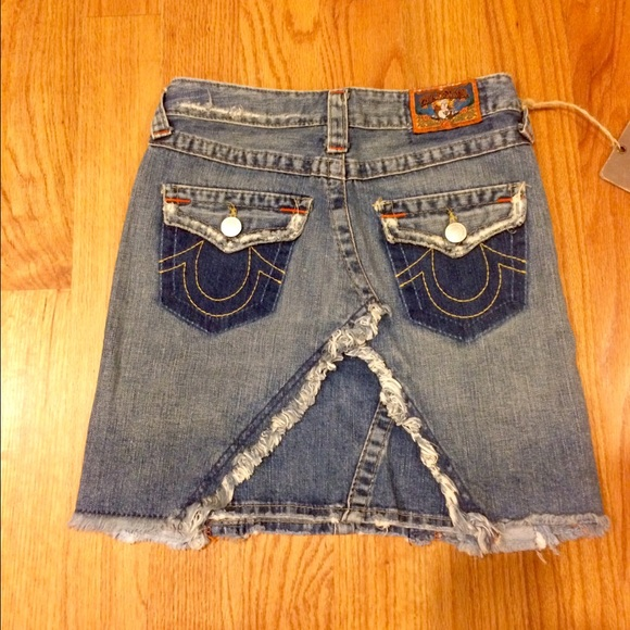 true religion nwt unique true religion denim skirt from