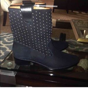 Rebecca minkoff leather boots it's brand new