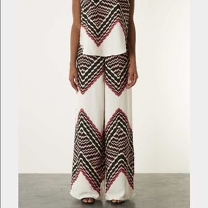 Topshop wide leg pants