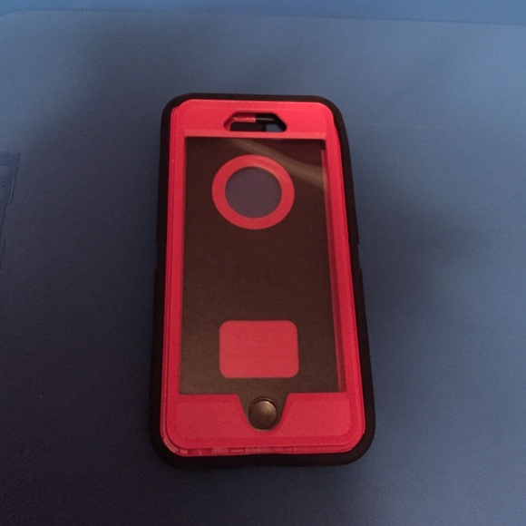 hot sale online 92b2e 4d839 Otterbox for IPhone 6 Pink & Black Case