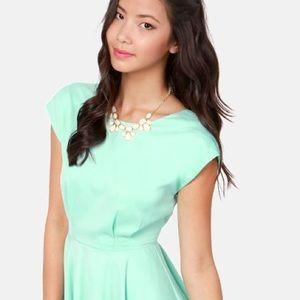 Lulu's Dresses & Skirts - Lulus Blaque Label Mint Green Dress Large