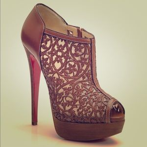 buy replica shoes - 59% off Christian Louboutin Shoes - Louboutin Ruched Patent ...
