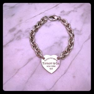  AUTHENTIC Return to Tiffany Heart Tag Bracelet