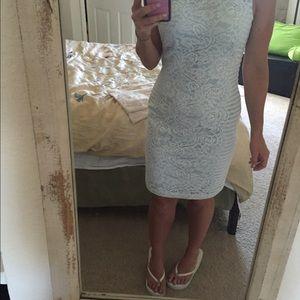 Jessica Simpson lace detail sheath dress sz 2 NWT