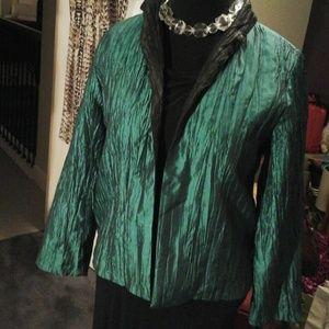 Staple Jackets & Blazers - Staples jade green jacket, reversible