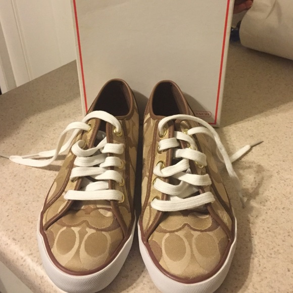 58 coach shoes coach canvas shoes from s