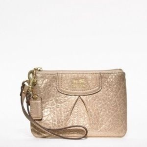 Coach Madison emb leather small wristlet 47191