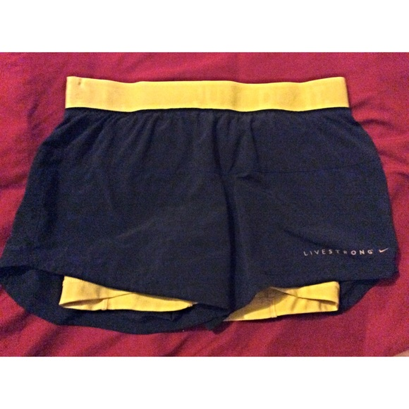 Nike Running Shorts with Built in Spandex Shorts