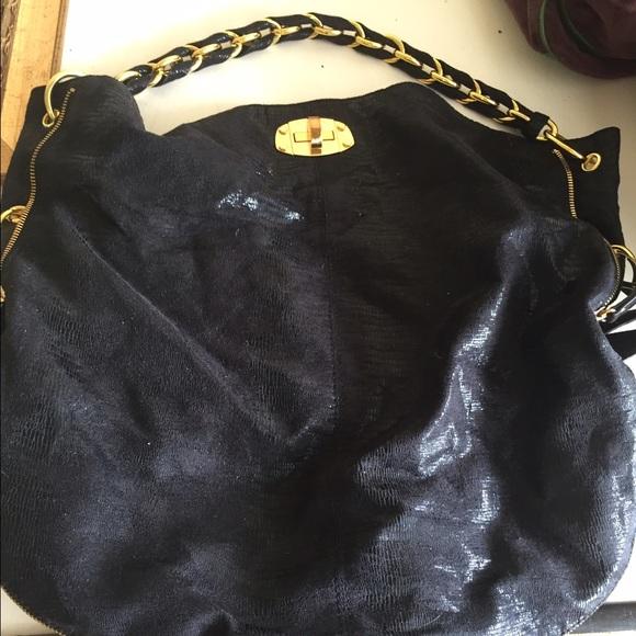 6ac82606835 Armani Exchange Handbags - Armani exchange black chain purse LIKE NEW