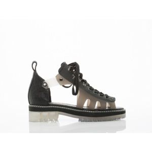 YES Shoes - Lazar - Black Sporty Sandal Open Toe