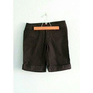Union Bay | Pinstripe Bermuda Shorts