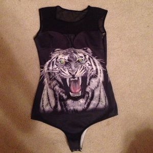 black tiger one piece