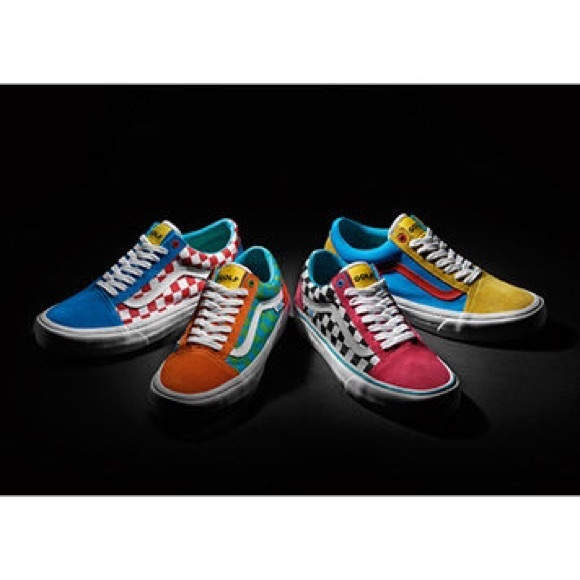 Bright Coloured Golf Shoes