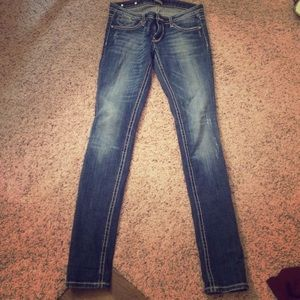 Rerock Skinny Jeans from Express
