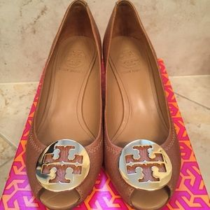 Tory Burch Sally 2 Wedge Pumps