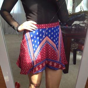 """Bandana"" skirt"
